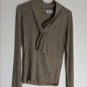 Ardene Bow Tie Front Sweater